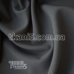 Ткань Габардин Тайвань (темно-серый)