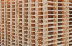 Палета деревяна нова 800х1200, облегшена , 2-й гатунок.