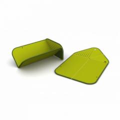 Складная разделочная доска-друшлаг(Зеленый)Joseph