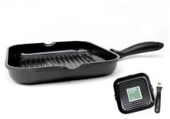 Сковорода-гриль 24 см. объем 3 л. Cook co