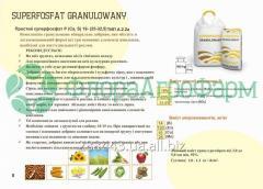 Superphosphate of granulyovaniye