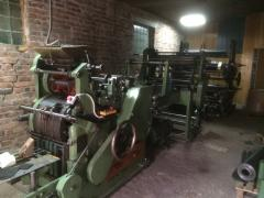 Line for the production of paper bags Holweg RS2
