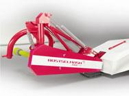 Mower rotational hinged Strige