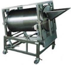 Mixer of products. Different types of mixing.