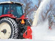 Máquinas para quitar nieve