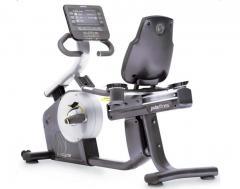 The exercise bike is horizontal, Pulsefitness,