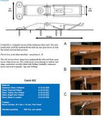 Стяжной механизм для столешници Siso