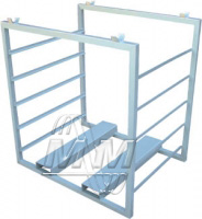 Cheese racks for transportation and storage of