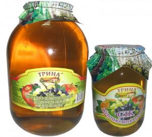 Сок яблочно-виноградный (осветленный