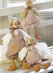 Interior dolls, tilde dolls