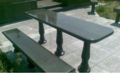 Curbstones from granite Granite production