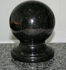 Spheres from granite
