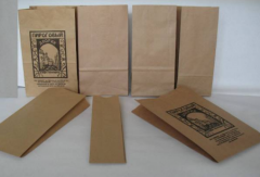 Paper packages for foodstuff: for bakery products,