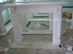 Fireplaces from a natural stone
