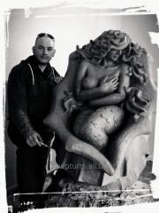 Скульптура русалка ,житомир
