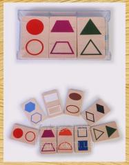 Geometrical Figures Small set 080