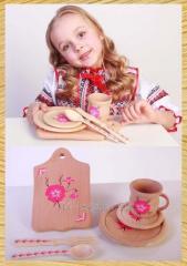 "Set of children's ware ""MAMIN"