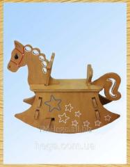 "Rocking chair ""Horse"" 095"