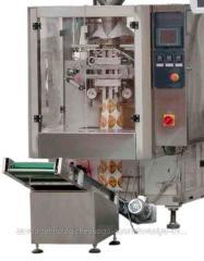 Автомат Пневматик-600 АВАНПАК с объёмным дозатором для фасовки в 3-х шовные пакеты