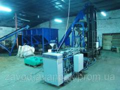 The AVANPAK line for pressing and packing of