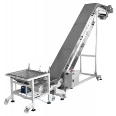 The conveyor giving for a series 600