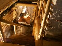 Laminated veneer lumber saunas