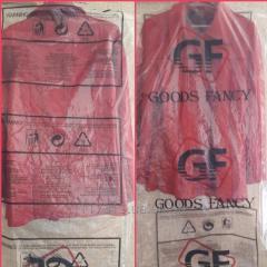 Чехол для одежды с логотипом 65*100*20