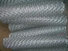 Сетка плетеная рабица из сталистой не оцинкованной