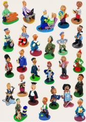 """Souvenir ceramic """"Professions"""