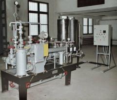 Установка приготовления мазута водоэмульсионного