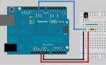 Sensor of temperature of DS 18B20 of Dallas