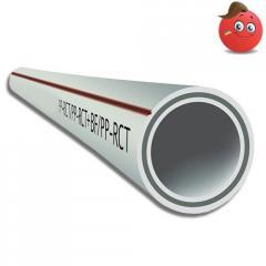 The polypropylene pipe PN 20 with basalt fiber of