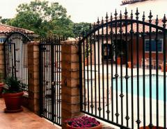 Fences, metal fences for houses, land
