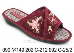 Slippers women's 090 S-212