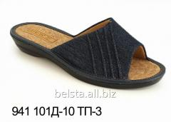 Slippers female (36-40) 941 D-10/TP