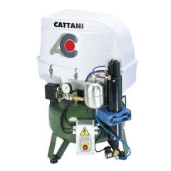 Dental compressor two-cylinder CATTANI (art.