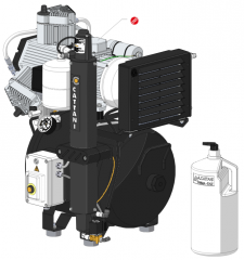 Dental AC300 compressor (art. 013330)