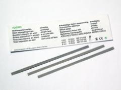 Metal separation tapes (strips) 8mm/12sh