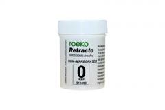 Нить ретракционная ROEKO Retracto #0 (сверхонкая) без пропитки длина 225 см.