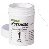 Нить ретракционная ROEKO Retracto #1 fine (Тонкая) с пропиткой хлорида аллюминия длина 225 см.