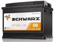 Automobile Schwarz-50 A accumulators / h