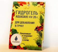 AQUASAVE KM 20 hydrogel gr (for addition in soil)