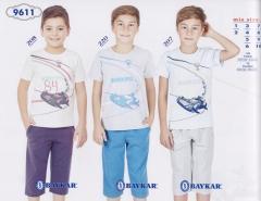 Пижама для мальчика с коротким рукавом