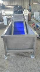 Equipment for washing fruits, vegetables and