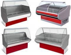 Холодильні вітрини COLD, IGLOO, LINDE, РОСС