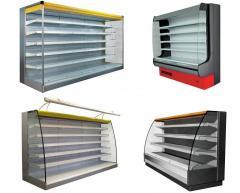 Холодильні регали COLD, IGLOO, LINDE, РОСС