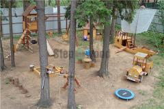Children's game town