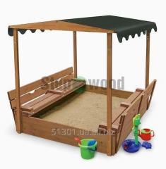 Sandbox for children