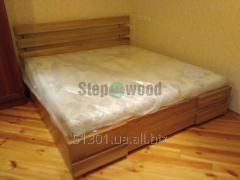 Oak box bed