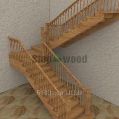 Лестница деревянная под заказ Mod 1